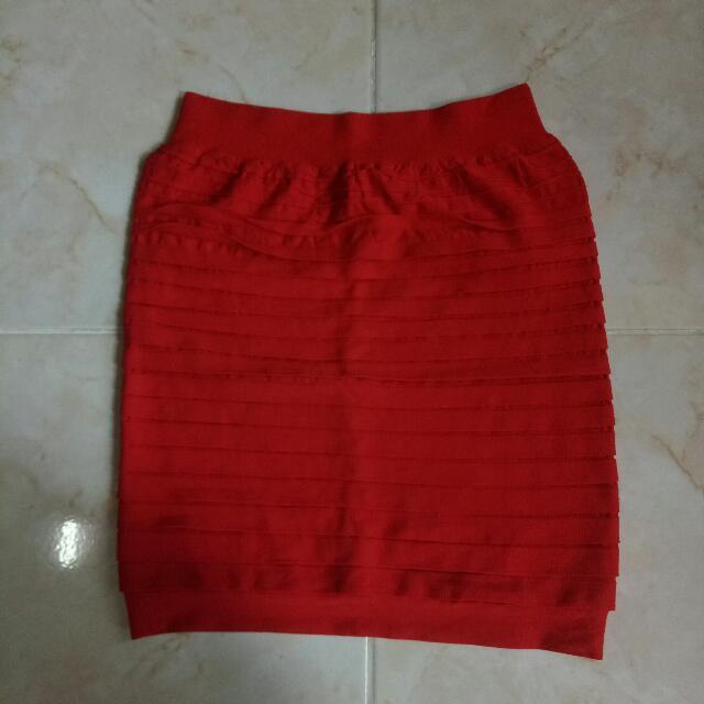 Red Bandage Skirt #skirtsbelow300