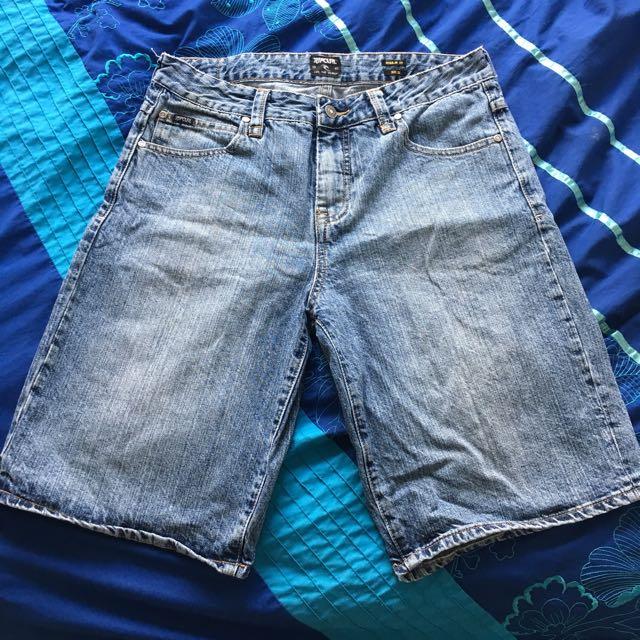 RUSTY Denim Shorts - Size 32