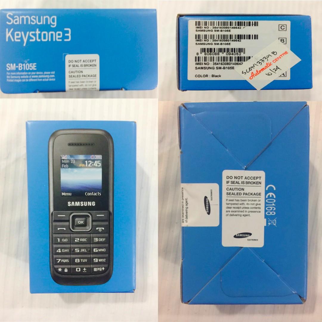 Samsung Keystone 3 Duos Voucher Belanja Update Harga Terkini Dan B109e Garansi Resmi 1 Thn Photo