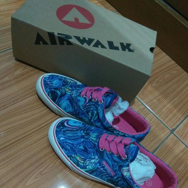 Sepatu Airwalk Helen Blue Multi Original Preloved
