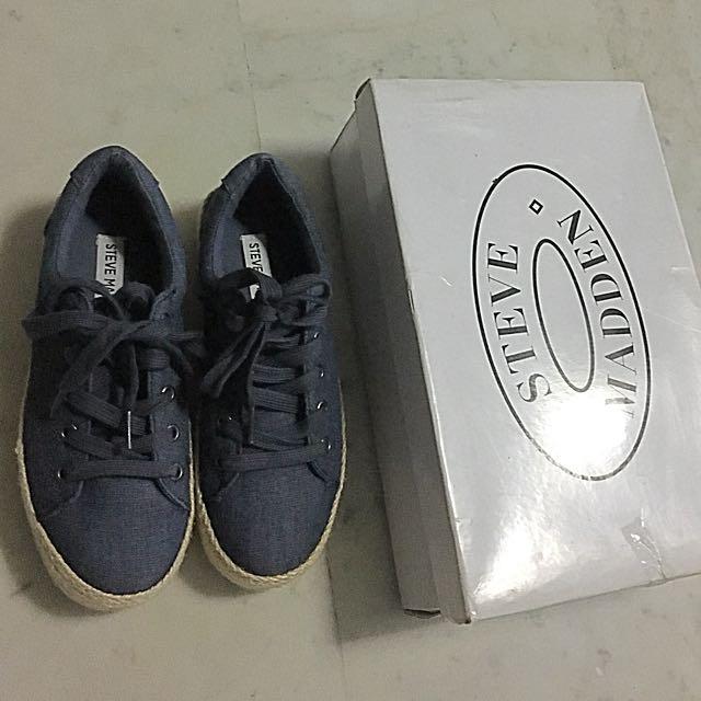 Authentic Steve Madden Denim fab Shoes