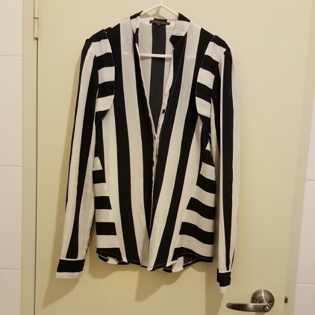 Stripes Sheike Shirt