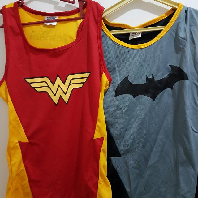 Superman Wonderwoman Running Jersey