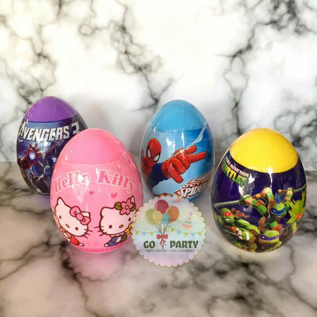 Surprise Egg Toys