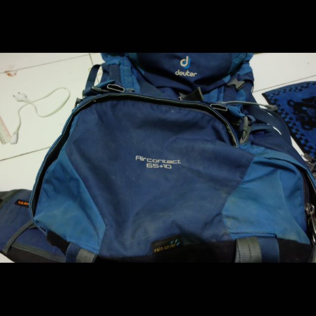Tas Deuter Air Contact 65 + 10