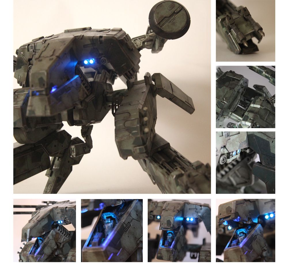 Threea Metal Gear rex - ask conditions