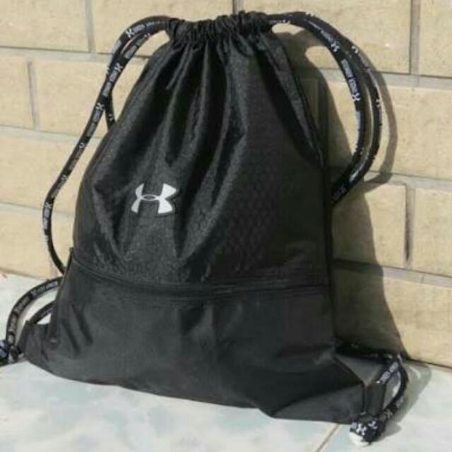 be4ce2177096 REPRICED) Under Armour Drawstring Bag