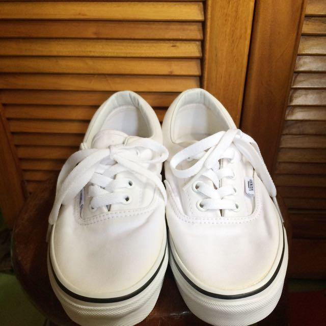 Vans 白鞋