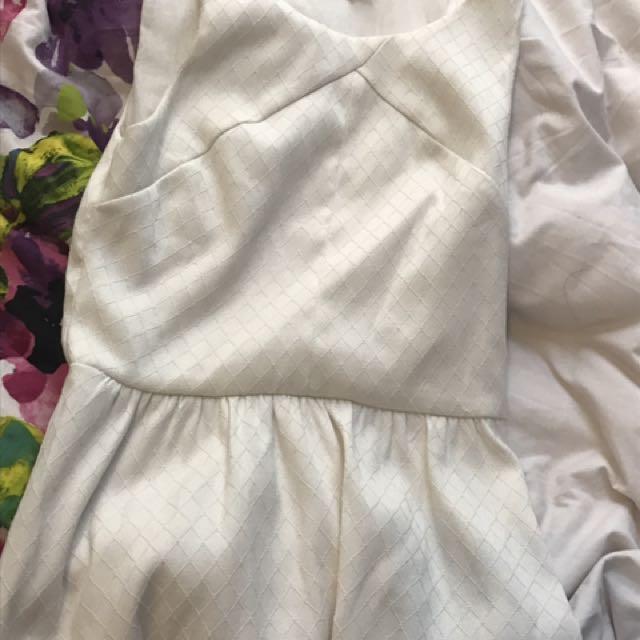 White Sunny Girl Dress