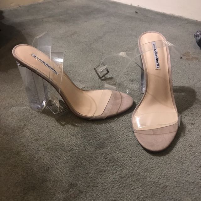 26cea4db8ba Windsor Smith Clear Heels Brand New In Store Gemma