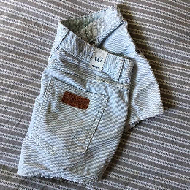 Wrangler Hi Cheeky Shorts
