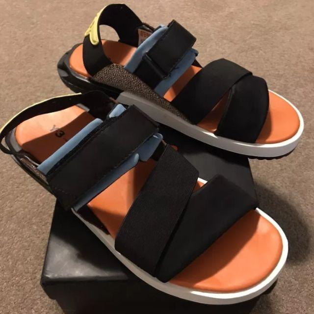 081df505865a5 Y3 Yohji Yamamoto Adidas Men s Sport Lux Sandal