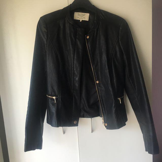 ZARA PU Jacket