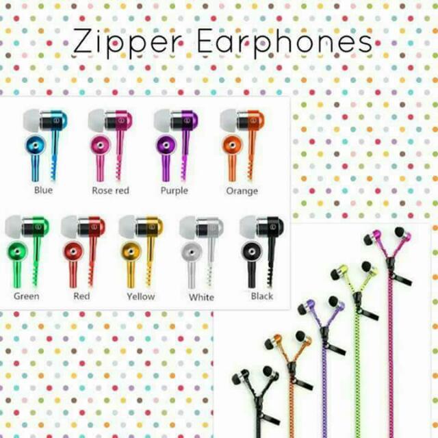 Zipper Earphone