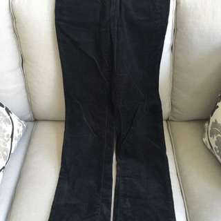 Joe fresh Black Corduroy Pants Size 2