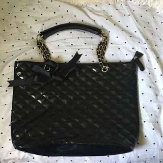 Black Shiny Bag ALDO