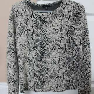 Dynamite XS Textured Sweater