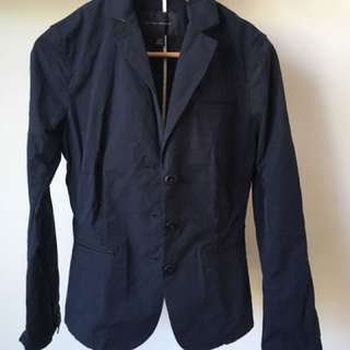 Banana Republic Navy Cotton Jacket Size S