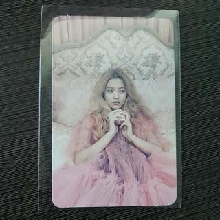 WTT RED VELVET THE RED PHOTOCARD