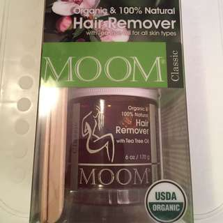 MOOM 100% Natural Hair Remover - Classic