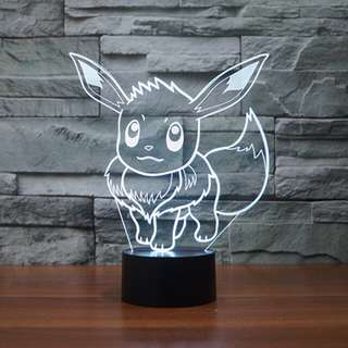 Pokémon 3D LED Lamp