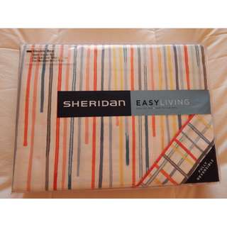 Sheridan Quilt cover, Doona cover, double, multi colour, brand new in packet