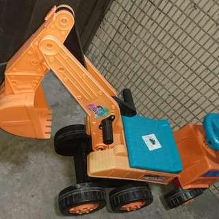 挖土機&貨車二合一兒童玩具車499元
