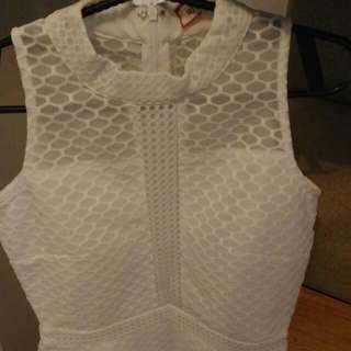 (Repriced) SM GTW Knee-length White Dress