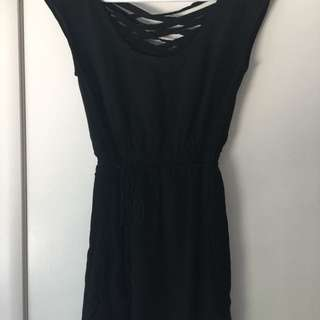 Size M. Short Black Dress