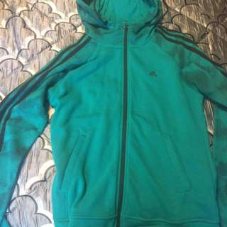 Adidas Green Sweater