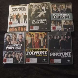 Outrageous Fortune Series 1-6