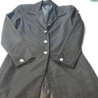 Black Tailored Coat