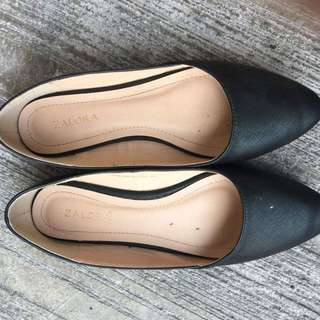 ZALORA SHOES ONCE USED