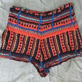 Glassons Aztec Shorts