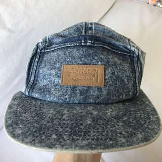 Stussy Denim Five Panel Hat