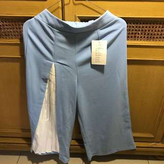 Celana Kulot - Biru muda