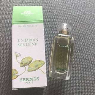 New HERMES 7.5 ml Eau De Toilette
