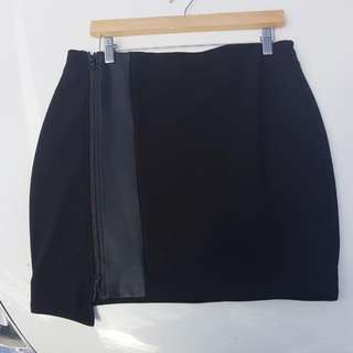 Witchery Black Skirt S14