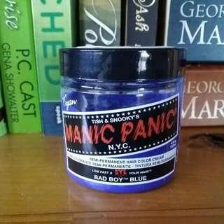Manic Panic blue Hair Dye