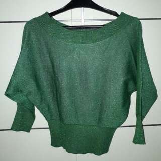 Green Blouse, Good Condition