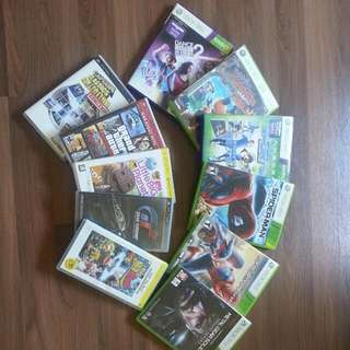 Xbox360/psp遊戲片