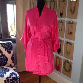 VS Hot Pink Robe