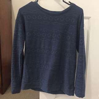 Blue Winter Jumper Size 8