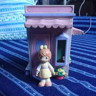 Precious Moments Doll And House