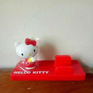 【全新免運】Hello Kitty 手機立架 名片座