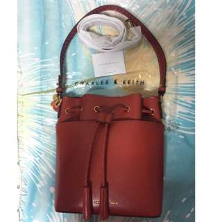 Authentic Charles & Keith Bucket Bag