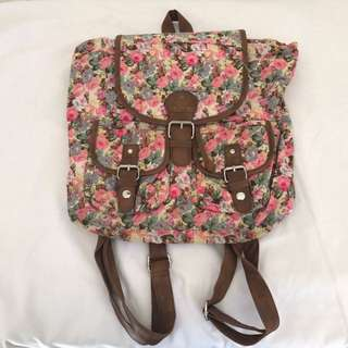 Ruby And Kit Floral Backpack