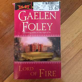 Lord Of Fire By Gaelen Foley