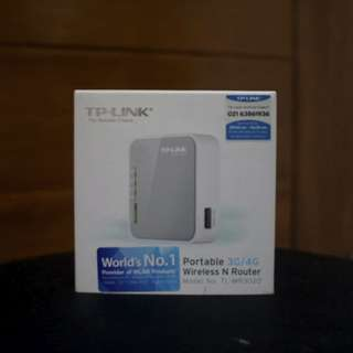 [Used] TP Link Wireless N Router TL-MR3020
