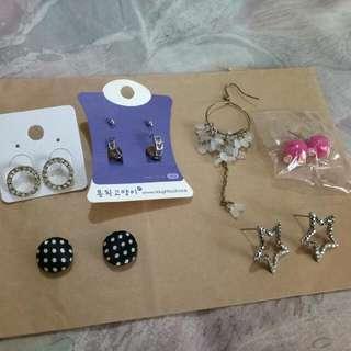 (含運)韓國耳環磁鐵耳環